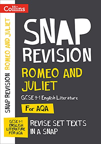 Romeo and Juliet: AQA GCSE English Literature Text Guide (Collins Snap Revision) from Collins