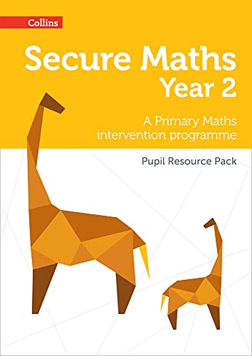 Secure Year 2 Maths Pupil Resource Pack: A Primary Maths intervention programme (Secure Maths) from Collins