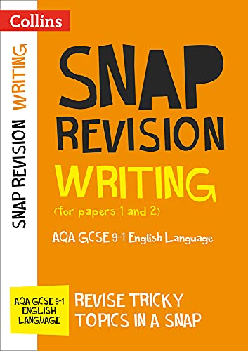 Writing (for papers 1 and 2): AQA GCSE English Language (Collins Snap Revision) from Collins