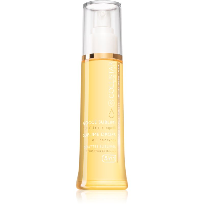 Collistar Special Perfect Hair Sublime Drops Nourishing Hair Oil 5 In 1 100 ml from Collistar