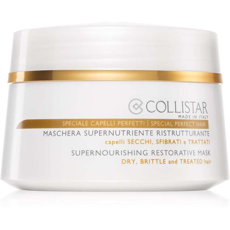 Collistar Special Perfect Hair Supernourishing Restorative Mask Nourishing Restorative Mask For Dry And Brittle Hair 200 ml from Collistar