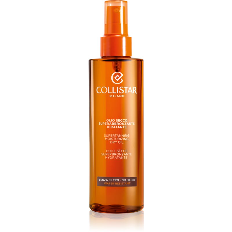 Collistar Special Perfect Tan Supertanning Moisturizing Dry Oil Sun Oil Without Protective Sun Factor 200 ml from Collistar