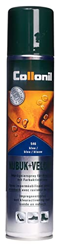 Collonil Unisex - Adults Nubuck + Velours Maintenance Spray 15920001546_Bleu foncé Blue 200ml UK from Collonil