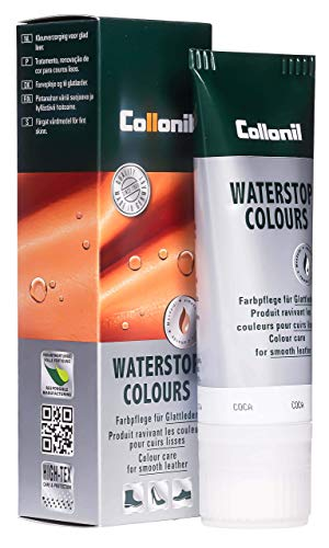 Collonil Waterstop Classic Care and waterproofing cream for smooth leather Brown from Collonil