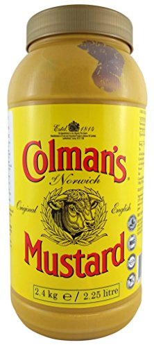Colman's Original English Mustard 2.25 Litre (Pack of 2 x 2.25ltr) from Colman's
