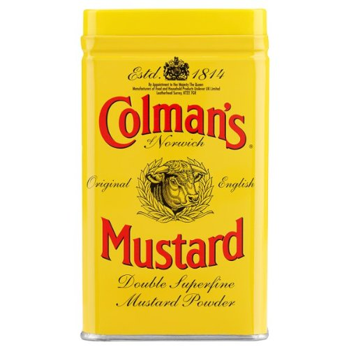 Colman's Original English Mustard Double Superfine Powder 113g from Colman's