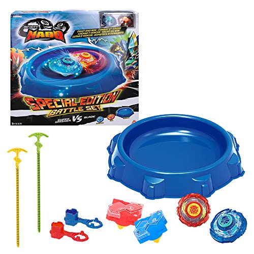 COLORBABY - INFINITY Nado Stadium with 2 Spinners + 2 Launchers (Color Baby 43918) from COLORBABY