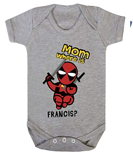 Colour Fashion Baby Deadpool Bodysuits Shortsleeve 100% Cotton 0 - 24 months 0005 (18-24 months, 92 cm, Green) from Colour Fashion