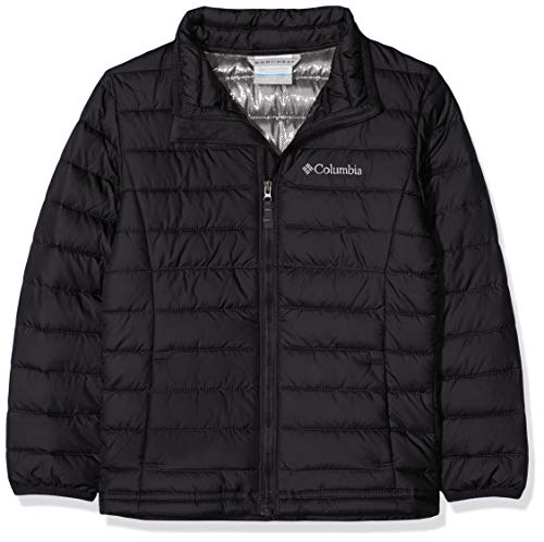 Columbia Powder Lite Boys Insulated Jacket, (Black), Small from Columbia