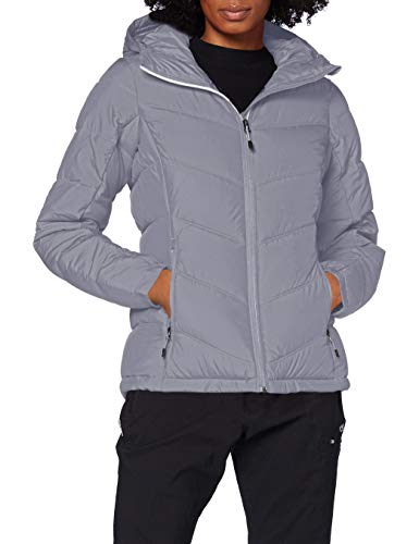 Columbia Women's Pike Lake Hooded Insulated Jacket, Grey (Gris), X-Large from Columbia