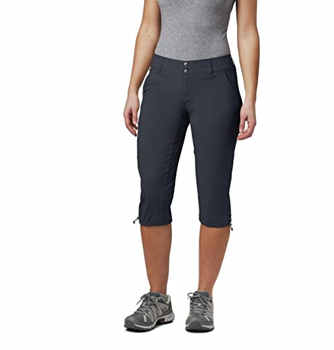 Columbia Women's Saturday Trail II Hiking Knee Trousers, Pant, Nylon, India Ink, Size 12 from Columbia