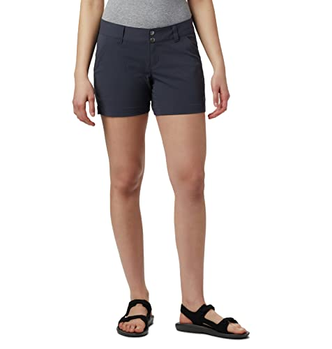 Columbia Women's Hiking Shorts, SATURDAY TRAIL SHORT, Nylon, India Ink, Size: 14, AL8675 from Columbia