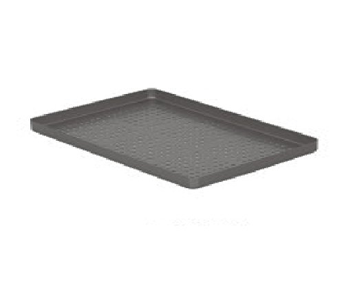 Comdent 28-2454-02P-Green Aluminium Coloured Tray, Perforated, 284x184x17 mm from Comdent