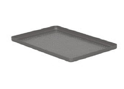 Comdent 28-2460-05P-Blue Aluminium Coloured Tray, Perforated, 284x184x17 mm from Comdent