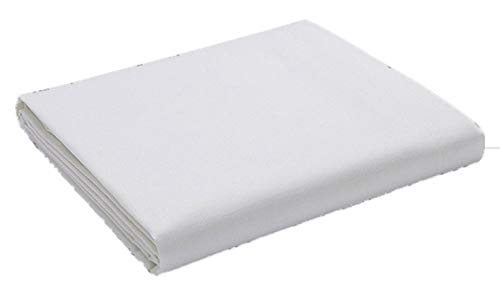 Comfy Nights Egyptian Cotton 200 Thread Count Flat Bed Sheet, White - King from Comfy Nights