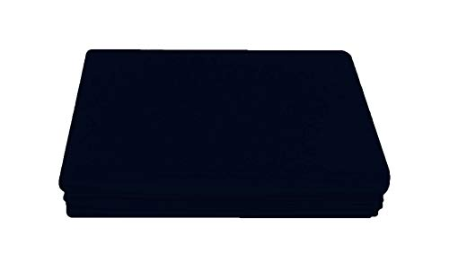 Comfy Nights PolyCotton Plain Dyed Flat Sheet Or Pillow Pair, Super King - Navy Blue from Comfy Nights