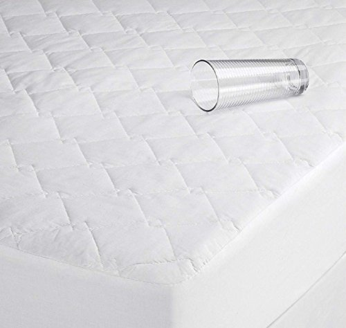 Comfy Nights Microfibre Quilted Waterproof Mattress Protector Non Allergenic Fully Fitted (Super King) from Comfy Nights