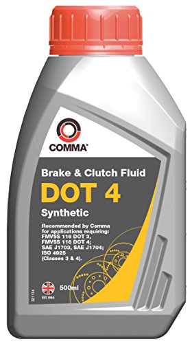 Comma BF4500M 500ml Dot 4 Synthetic Brake Fluid from Comma