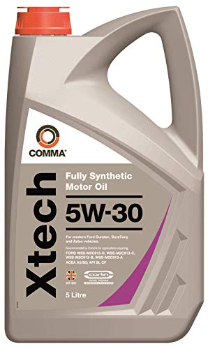 Comma XTC5L XTech Fully Synthetic 5W30 Motor Oil, 5 Litre from Comma