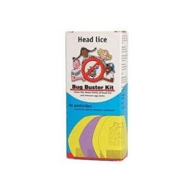 Head Lice Bug Buster Kit from Community hygeine concern