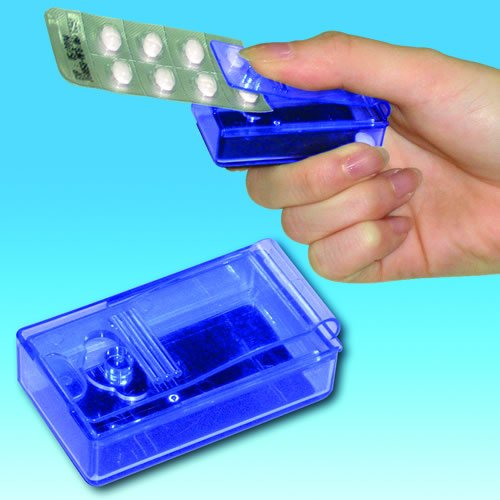 Pill Puncher with Container from Complete Care Shop