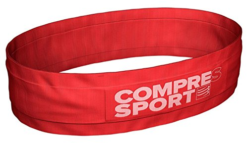 COMPRESSPORT Adult Free Belt White Running Belt, Red, XL/XXL from COMPRESSPORT