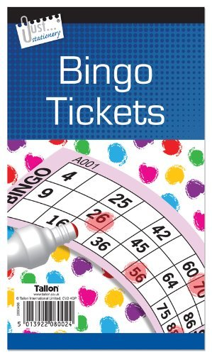 Jumbo Bingo Book / Pad 480 Tickets. 6 to View Buy 1 Get 1 FREE (Big, bold, easy to read numbers) from Concept4u