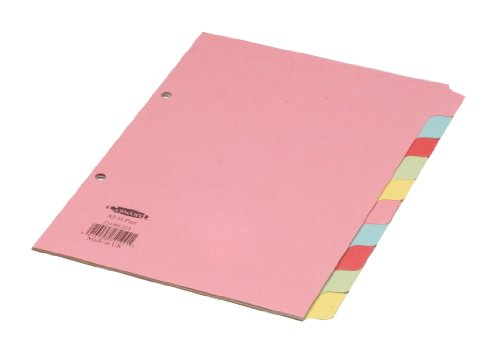 Concord Subject Dividers 230 Micron 10-Part A5 Ref 72199/J21 from Concord