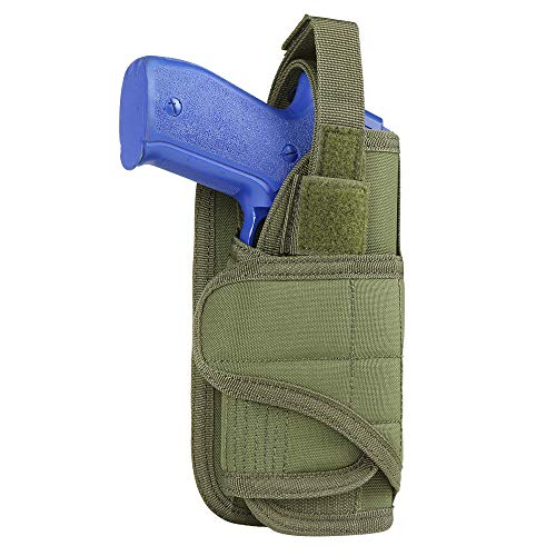 Condor Vertical Hunting MOLLE Holster Tactical Airsoft Pistol Holder Olive Drab from Condor