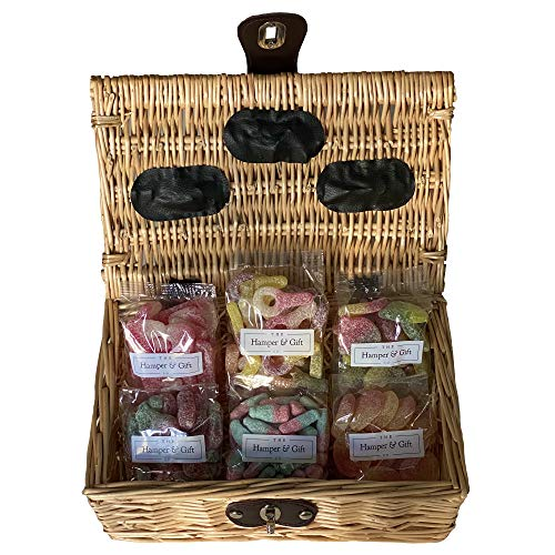 Fizzy Sour Sweet Hamper Gift Basket - Perfect Confectionery Present for Him or Her, Husband or Wife, Boyfriend or Girlfriend, Son or Daughter from Confectionery Gifts & Hampers