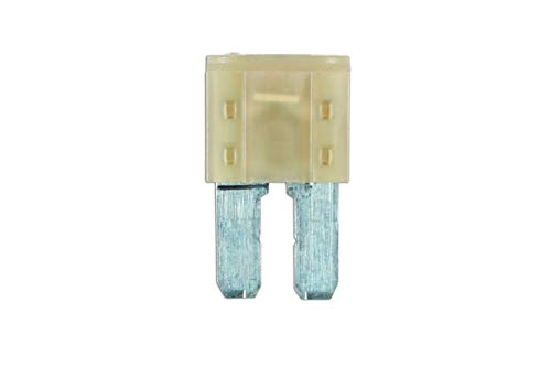 Connect Workshop Consumables 37179 LED Micro 2 Blade Fuse, 7.5 A, Set of 25 from Connect Workshop Consumables
