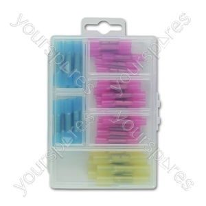 Assorted Mini Box - Heat Shrink Butt Connectors - 36 Piece from Connect