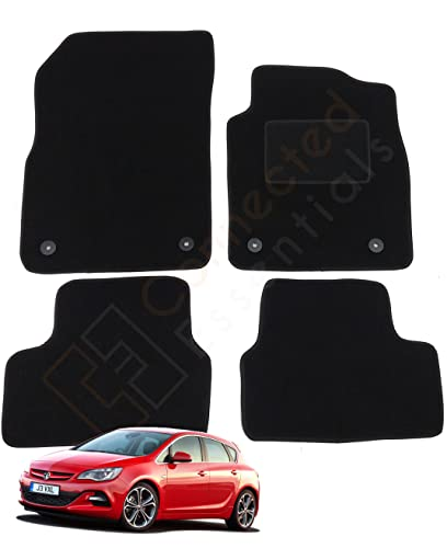 Fully Tailored Car Mats, Deluxe, Set of 4, Black by Connected Essentials, 5005985 from Connected Essentials