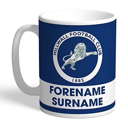 Content Gateway Official Personalised Millwall FC Eat Sleep Drink Mug from Content Gateway