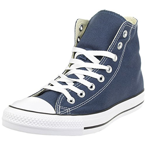 Converse Unisex-Adult Chuck Taylor All Star Hi-Top Trainers, Blue (Navy), 8.5 UK (42 EU) from Converse