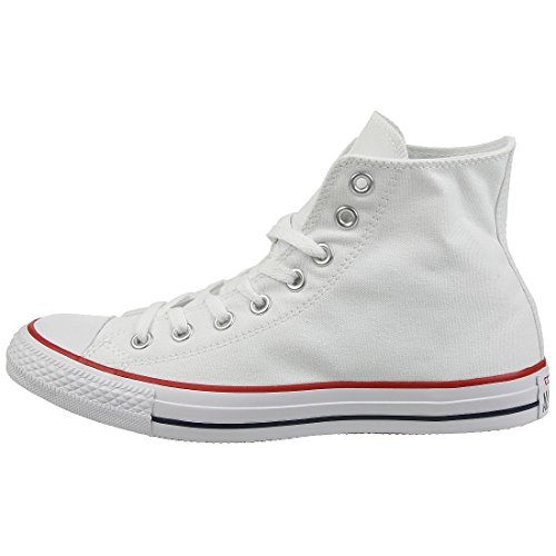 Converse Chuck Taylor All Star Hi-Top, Unisex Adults' Hi- Top Trainers, White(White Optical), 11 UK (45 EU) from Converse