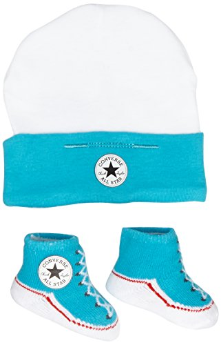 Converse Baby Cap/Bootie, Multicoloured (Mesange), One Size from Converse