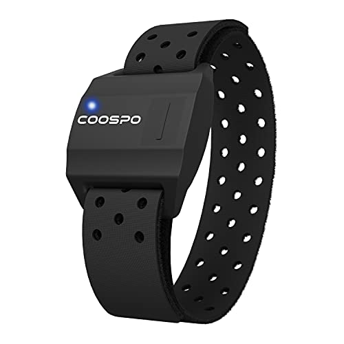 CooSpo Heart Rate Armband Sensor Bluetooth ANT+ Waterproof - Armband 1.15ft (35cm) from CooSpo