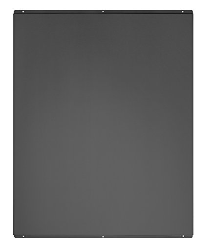 Univeral Cookology Unbranded SB600BK Splashback to fit 60cm Flat Chimney Hood in Black from Cookology by theWrightBuy