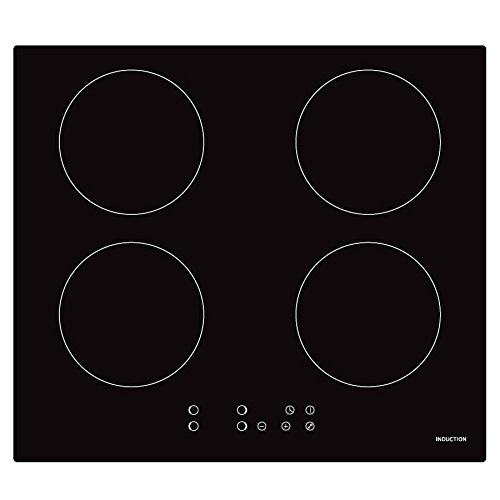Cookology CIP613 Plug-in Induction Hob | 60cm, Black, Built-in, 13 Amp from Cookology