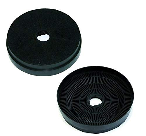 theWrightBuy Pair of Carbon Charcoal Filters STANDFILT200 for Cookology Cooker Hoods from Cookology