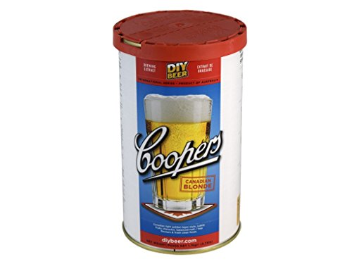 Coopers Canadian Blonde (1.7 Kg) beer kit from Coopers