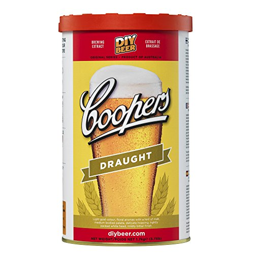 Coopers Draught 40 Pint 1.7kg Home Brew Beer Kit from Coopers