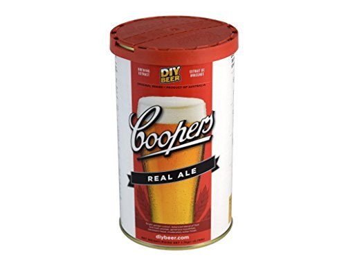 Coopers Real Ale (1.7 Kg) beer kit from Coopers