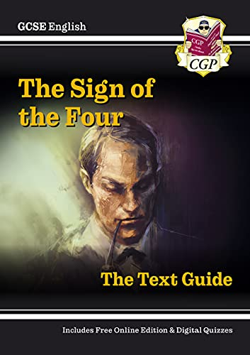 Grade 9-1 GCSE English Text Guide - The Sign of the Four (CGP GCSE English 9-1 Revision) from Coordination Group Publications Ltd (CGP)