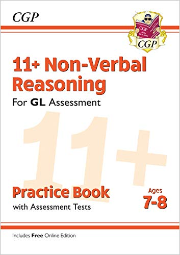 New 11+ GL Non-Verbal Reasoning Practice Book & Assessment Tests - Ages 7-8 (with Online Edition) (CGP 11+ GL) from Coordination Group Publications Ltd (CGP)