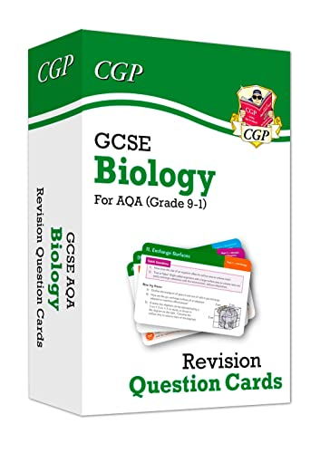 New 9-1 GCSE Biology AQA Revision Question Cards (CGP GCSE Biology 9-1 Revision) from Coordination Group Publications Ltd (CGP)