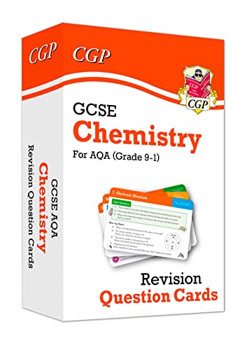 New 9-1 GCSE Chemistry AQA Revision Question Cards (CGP GCSE Chemistry 9-1 Revision) from Coordination Group Publications Ltd (CGP)