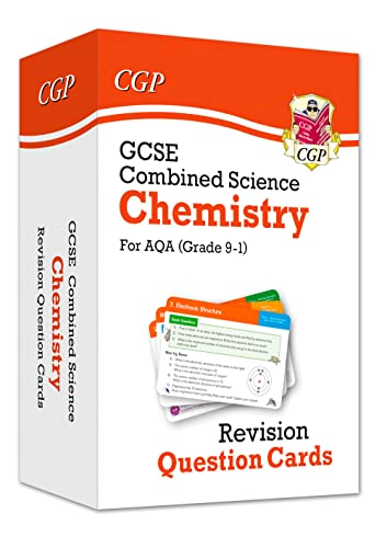 New 9-1 GCSE Combined Science: Chemistry AQA Revision Question Cards (CGP GCSE Combined Science 9-1 Revision) from Coordination Group Publications Ltd (CGP)