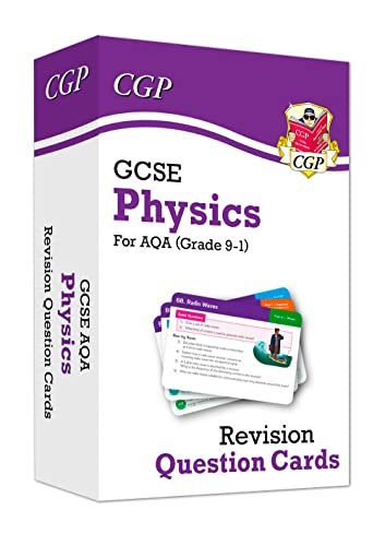 New 9-1 GCSE Physics AQA Revision Question Cards (CGP GCSE Physics 9-1 Revision) from Coordination Group Publications Ltd (CGP)